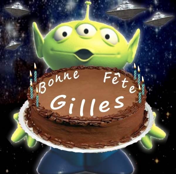 Tres Bon Anniversaire Gilles